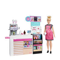 Barbie Koffieshop speelset