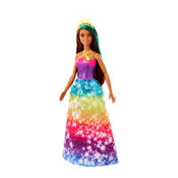 Barbie Fairytale Dreamtopia Prinses donker haar