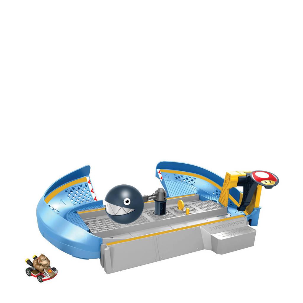 Hot Wheels  Mario Kart Nemesis Track Set - Chain Chomp