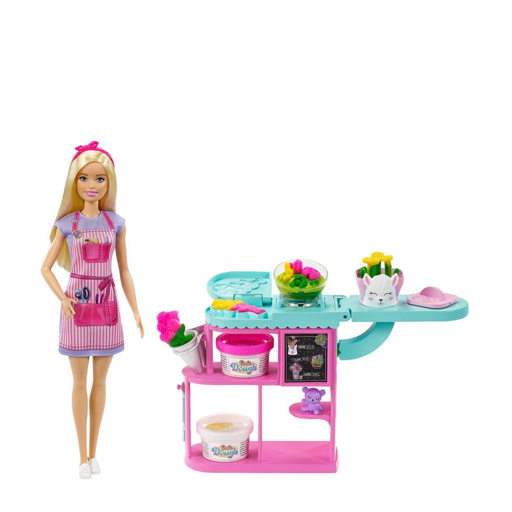 Barbie Bloemist speelset blond