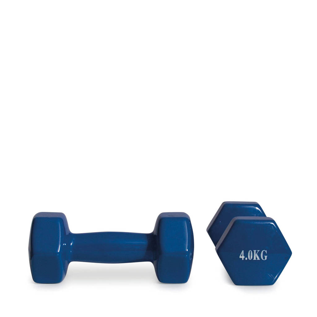 Active Panther dumbbell set 2x 4kg blauw