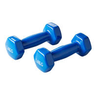 Active Panther dumbbell set 2x 1kg blauw