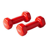 Active Panther dumbbell set 2x 1.5kg rood