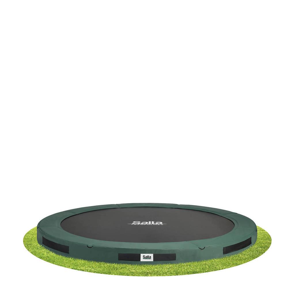Salta Premium Ground trampoline Ø366 cm, Groen