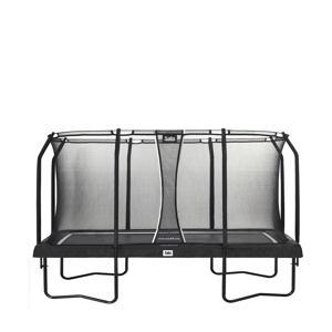 Premium Black trampoline 396x244 cm