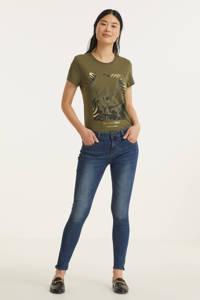 Hailys skinny jeans Amania dark blue denim, Dark blue denim
