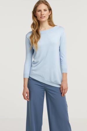 trui Carol lichtblauw