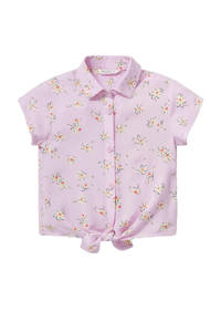 C&A Happy girls Club gebloemde blouse lila, Lila