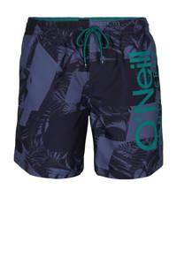 O'Neill Blue zwemshort Cali met logo donkerblauw, Donkerblauw