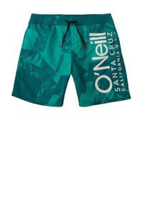 O'Neill Blue zwemshort Cali met all over print groen, Groen