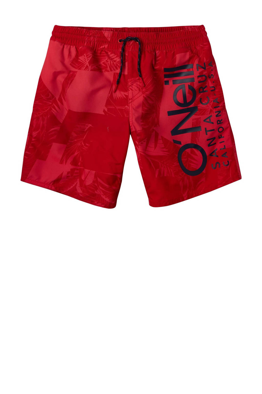 O'Neill Blue zwemshort Cali met all over print rood, Rood