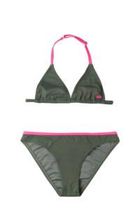 O'Neill Blue triangel bikini Essential olijfgroen, Olijfgroen