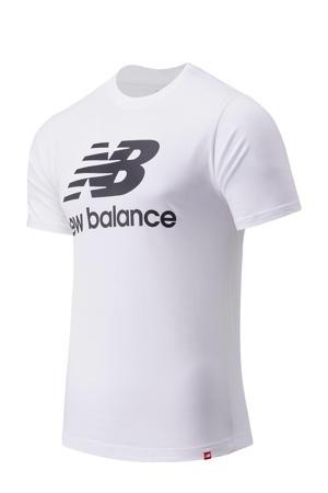T-shirt wit/zwart