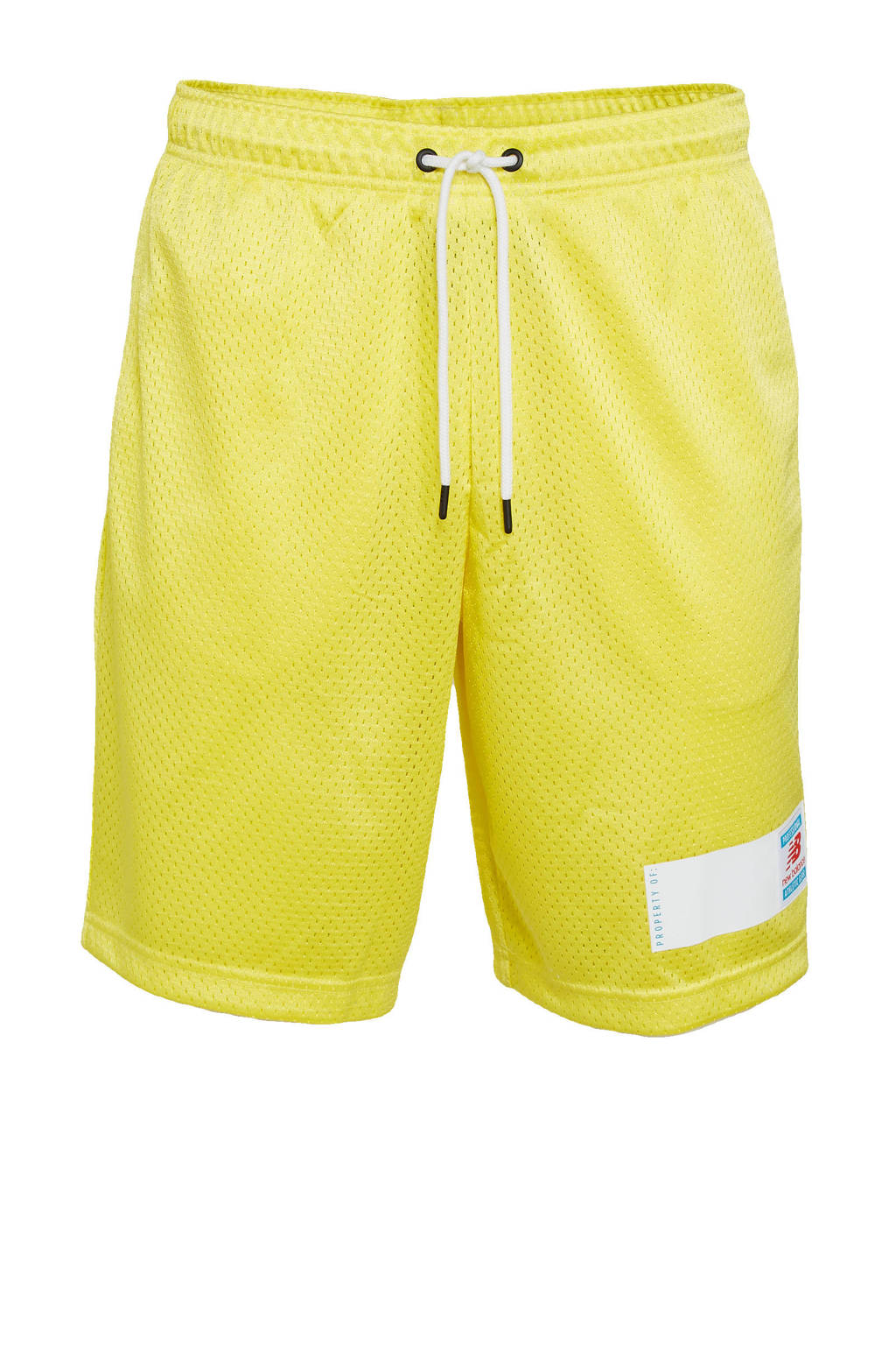 New Balance short geel, Geel