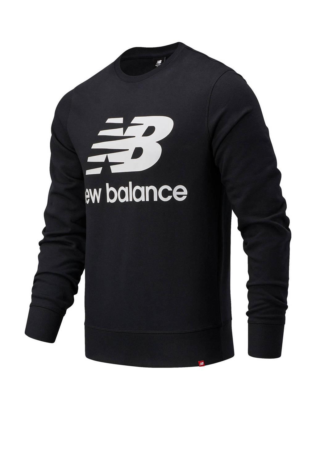 New Balance sweater zwart, Zwart