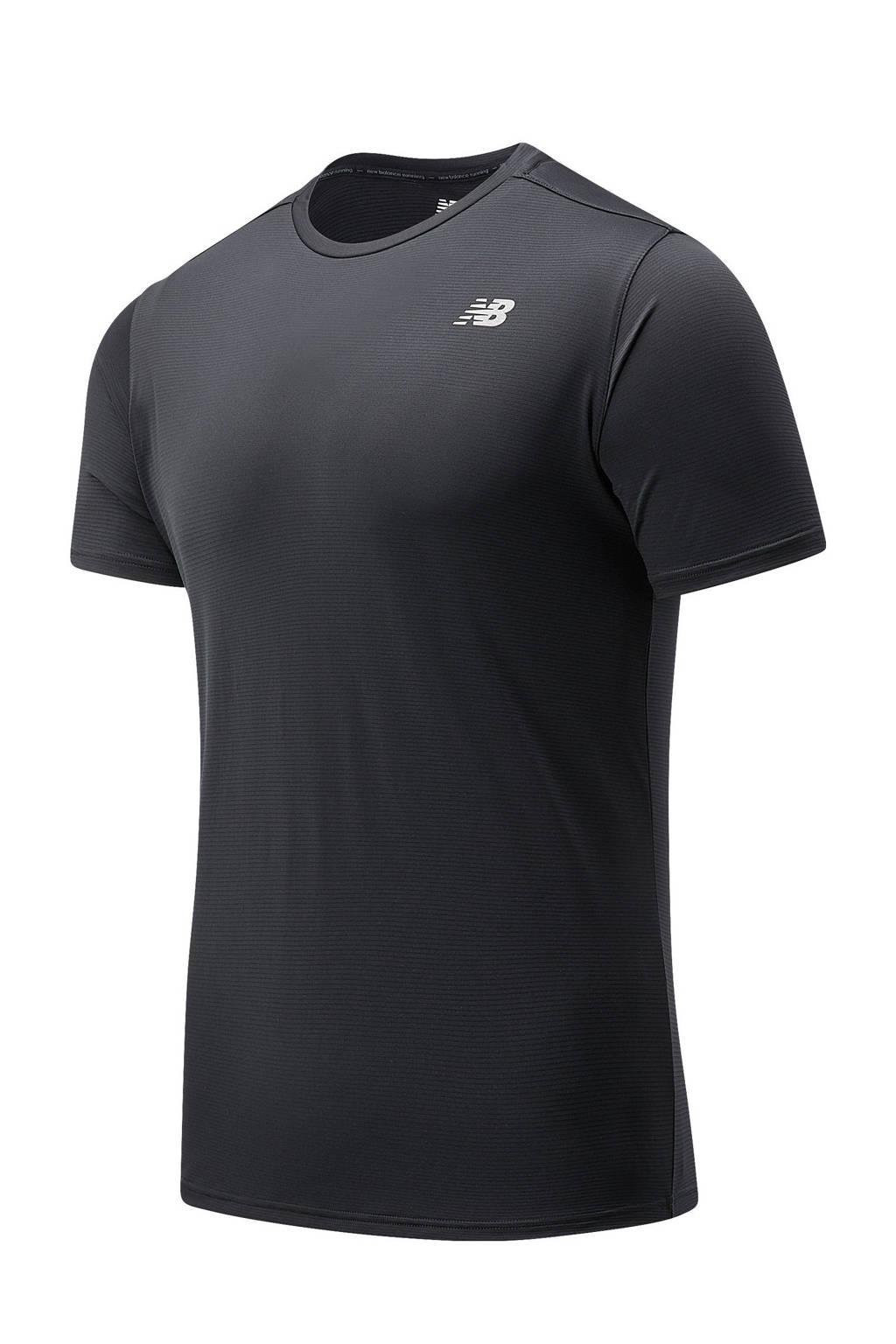 New Balance   hardloopshirt Accelerate zwart, Zwart