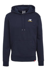 New Balance hoodie donkerblauw, Donkerblauw