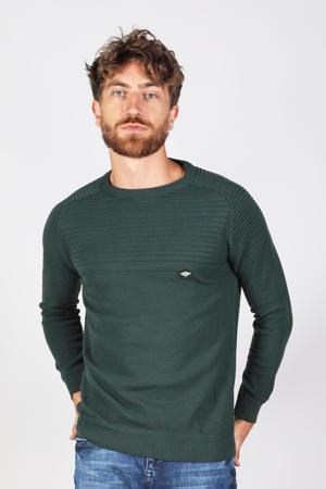 trui met textuur groen