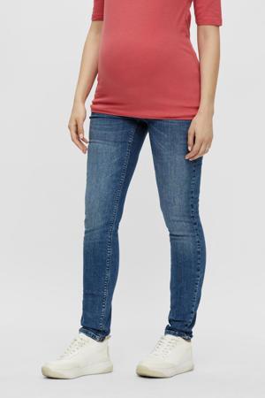 low waist slim fit jeans MLSAVANNA met biologisch katoen light denim