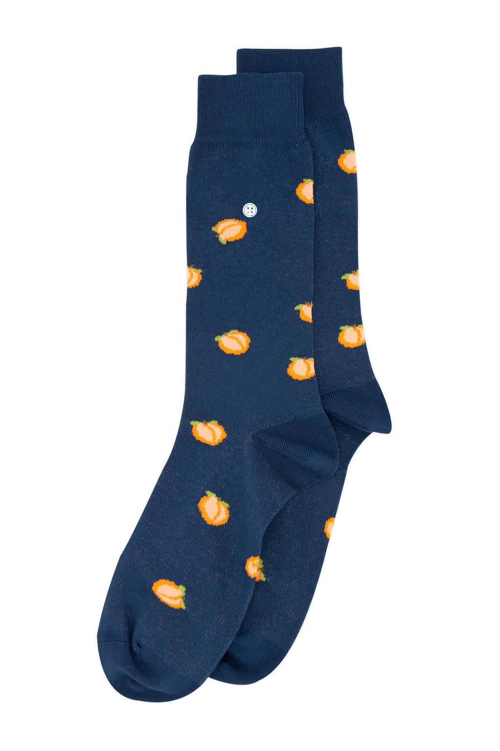 Alfredo Gonzales sokken Peach donkerblauw, Donkerblauw