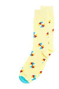 Alfredo Gonzales sokken Sunny Shades geel, Geel