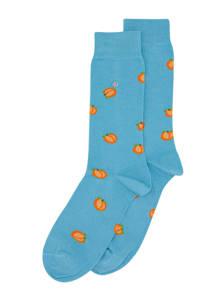 Alfredo Gonzales sokken Peach lichtblauw, Lichtblauw