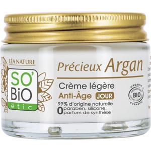 SO'BiO étic Précieux Argan Anti-Aging dagcreme