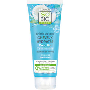 SO'BiO étic Leave in hairmask Coco Hyaluronic acid