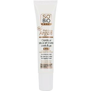 SO'BiO étic Précieux Argan Anti-Aging Lip &  Eye contour
