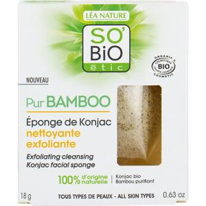 SO'BiO étic Bamboo Konjac Facial sponge