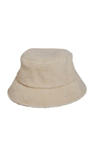 teddy bucket hat OBJTEDDI beige