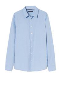 C&A smart with style overhemd van biologisch katoen lichtblauw, Lichtblauw