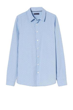 overhemd van biologisch katoen lichtblauw