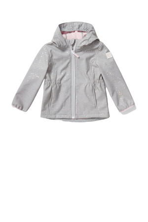 zomerjas met all over print grijs
