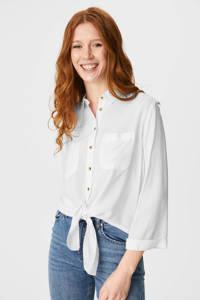 C&A Clockhouse blouse wit, Wit