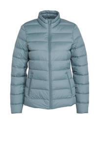 C&A The Outerwear gewatteerde jas blauw, Blauw