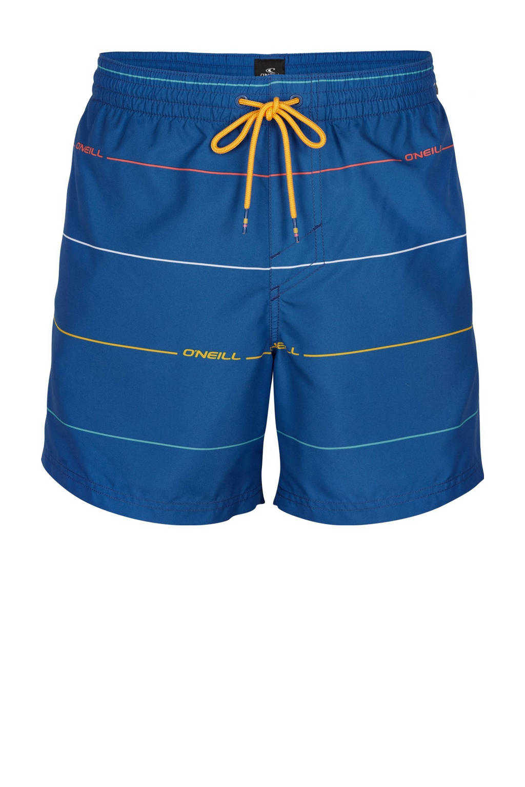 O'Neill Blue zwemshort Contourz met strepen blauw, Blauw