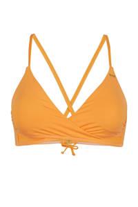 O'Neill Blue overslag triangel bikinitop Baay oranje, Oranje