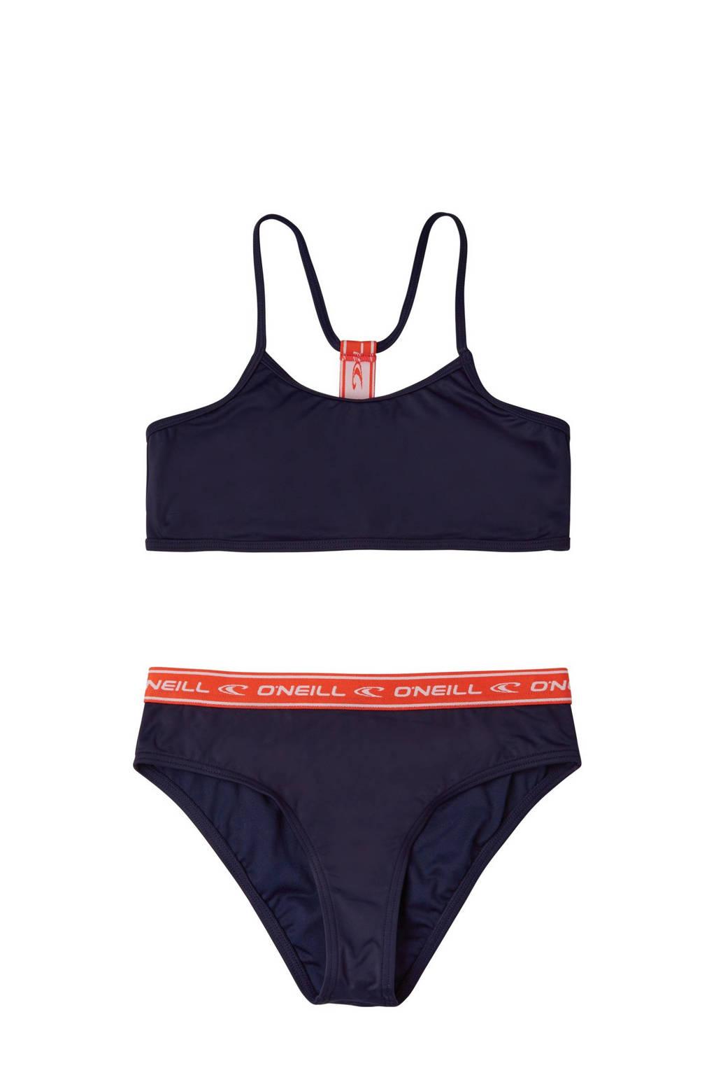O'Neill Blue crop bikini zwart, Zwart
