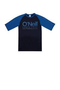 O'Neill Blue UV T-shirt Cali met logo donkerblauw/blauw, Donkerblauw/blauw
