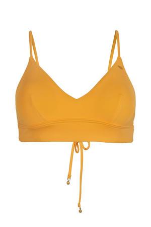 bikinitop Wave oranje
