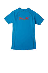 O'Neill Blue UV T-shirt met printopdruk blauw, Blauw