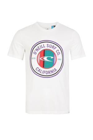 T-shirt Club Circle wit