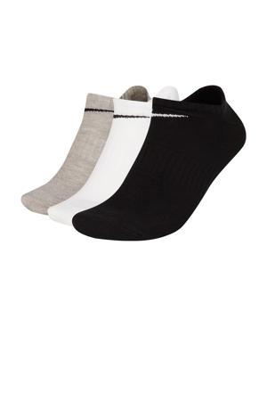 sokken - set van 3 zwart/grijs/wit