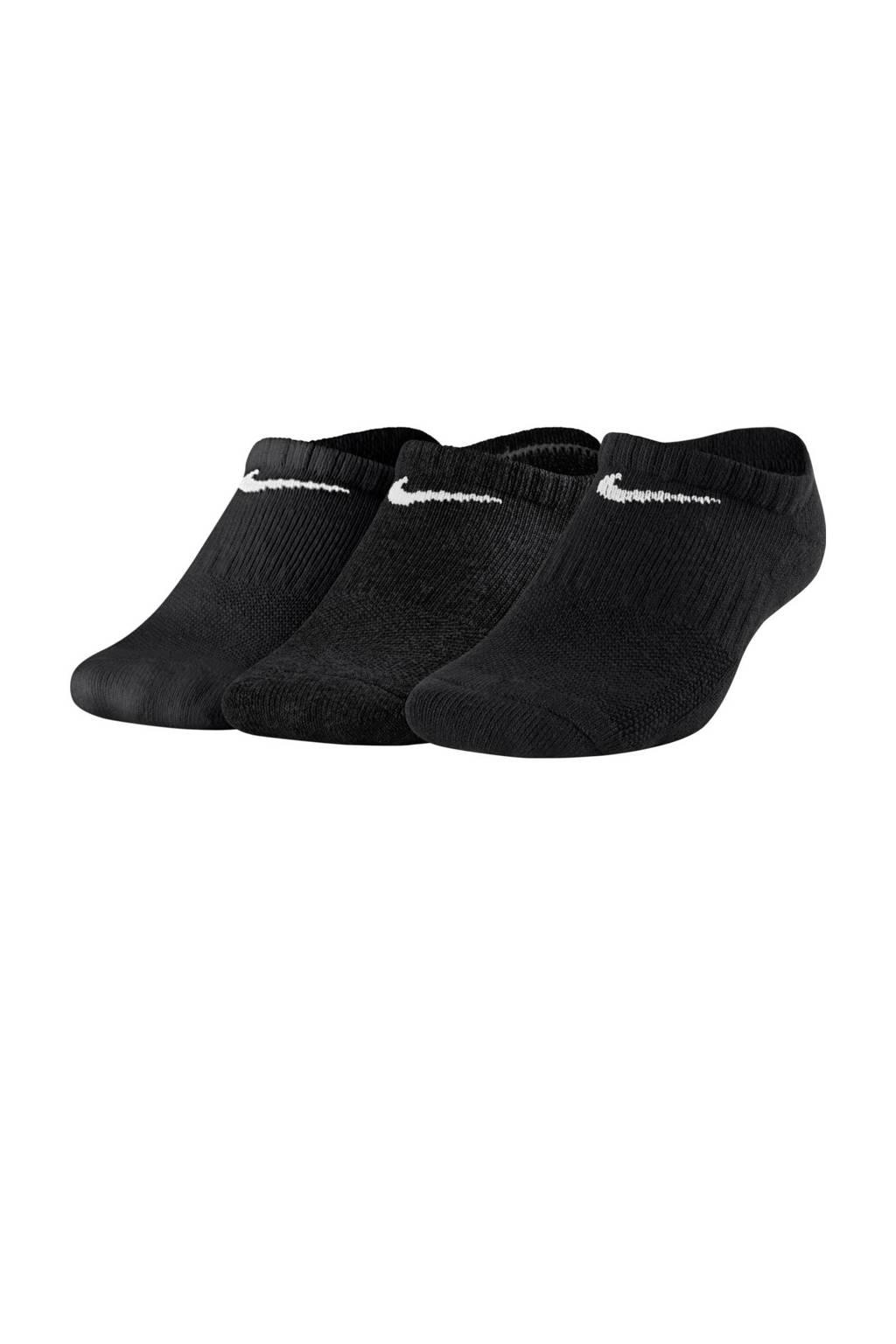Nike sokken - set van 3 zwart, Zwart
