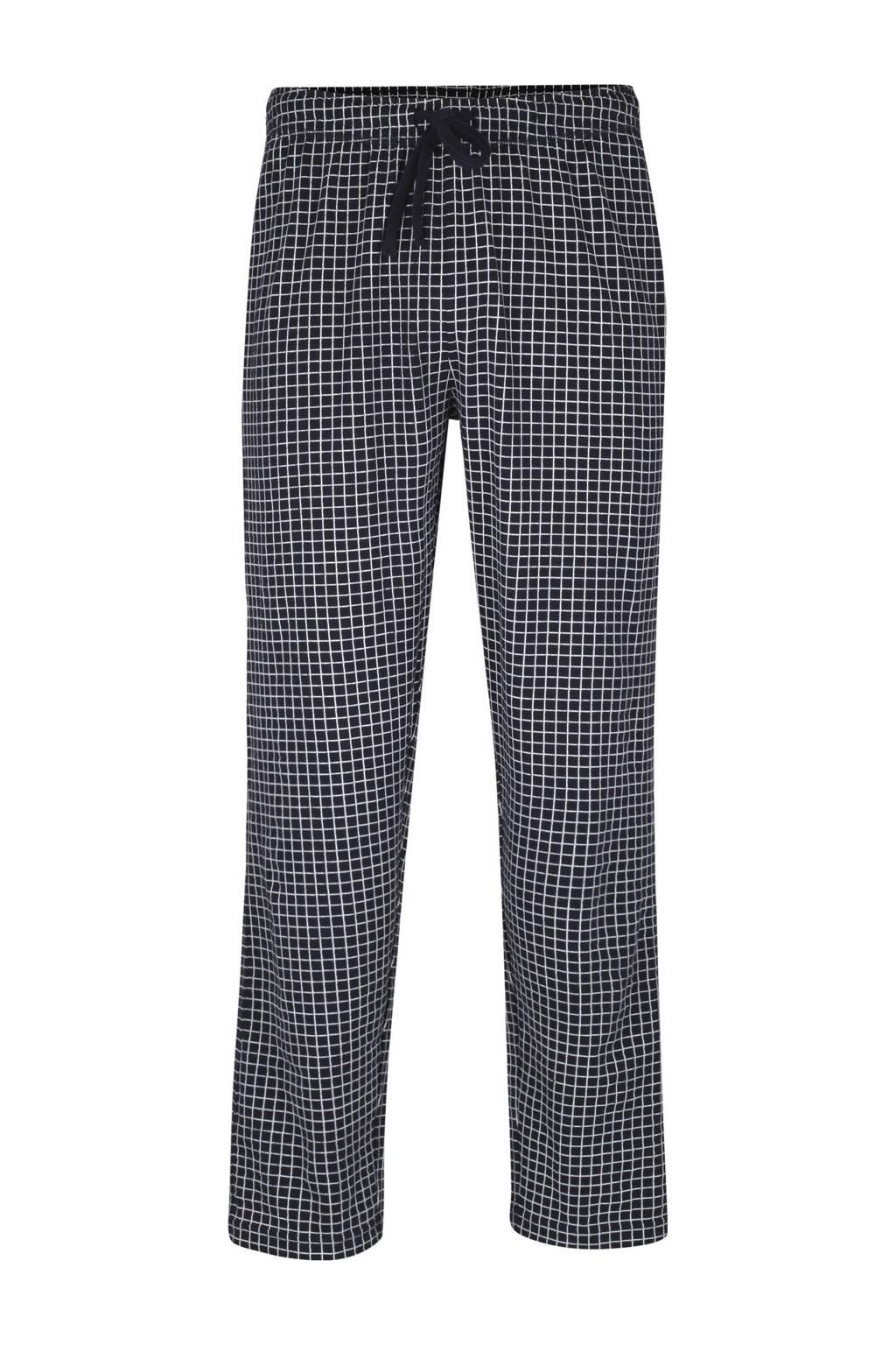 Ceceba geruite pyjamabroek donkerblauw, Donkerblauw
