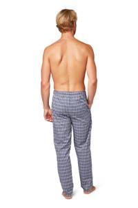 Tom Tailor geruite pyjamabroek donkerblauw/wit, Donkerblauw/wit