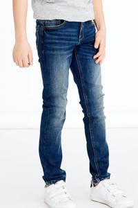 NAME IT KIDS slim fit jeans NKMSILAS dark denim, Dark denim