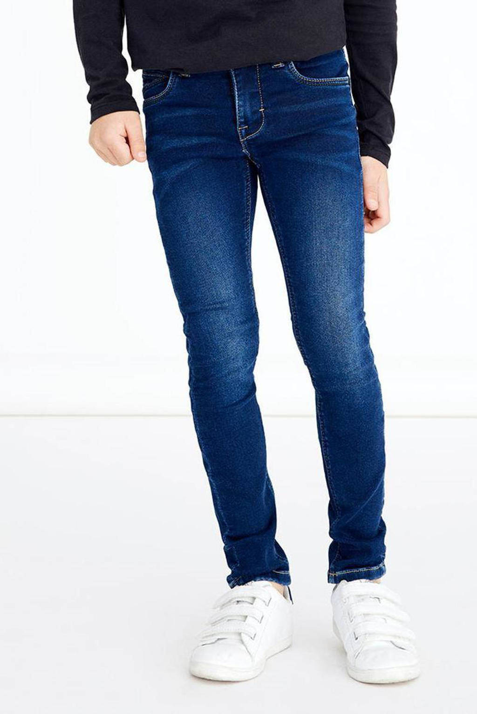 NAME IT KIDS slim fit jeans NKMTHEO dark denim, Dark denim