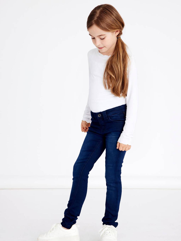 NAME IT KIDS skinny jeans NKFPOLLY dark denim, Dark denim